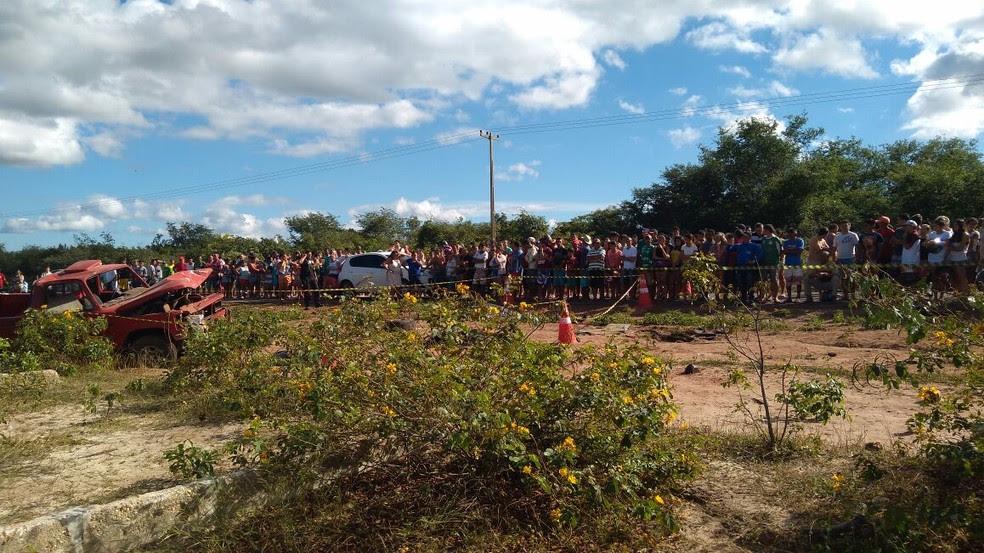 Feridos foram levados a hospitais de Parnaíba e Cocal (Foto: Divulgação/Polícia Civil)