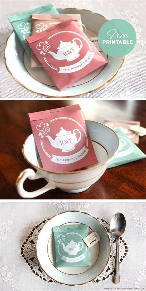 Wedding Favor Gift Ideas   Wedding   Tea wedding favors