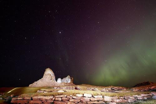 Jarlshof aurora