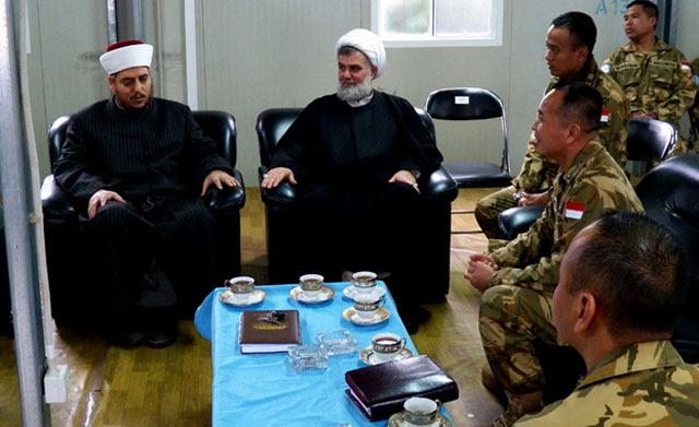 Tokoh Agama Libanon Kunjungi Indobatt