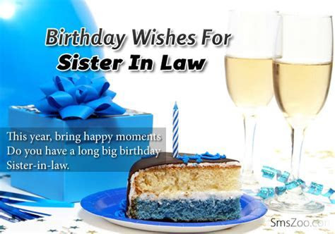 Birthday Wishes For Sister In Law   Birthday Quotes