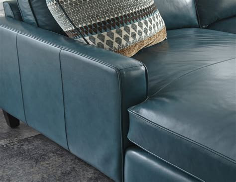 turquoise leather sectional sofa sectionals lawrence top