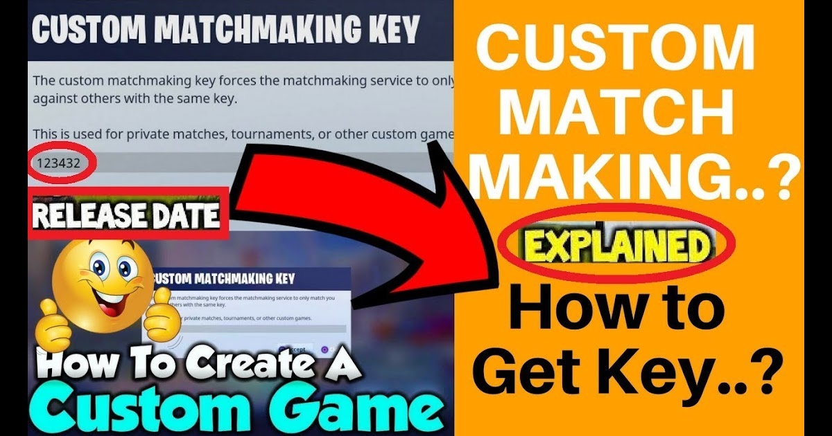 How to find matchmaking key fortnite