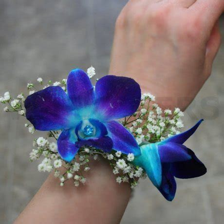 Flowers Picture Collection: White Dendrobium Orchid Wrist