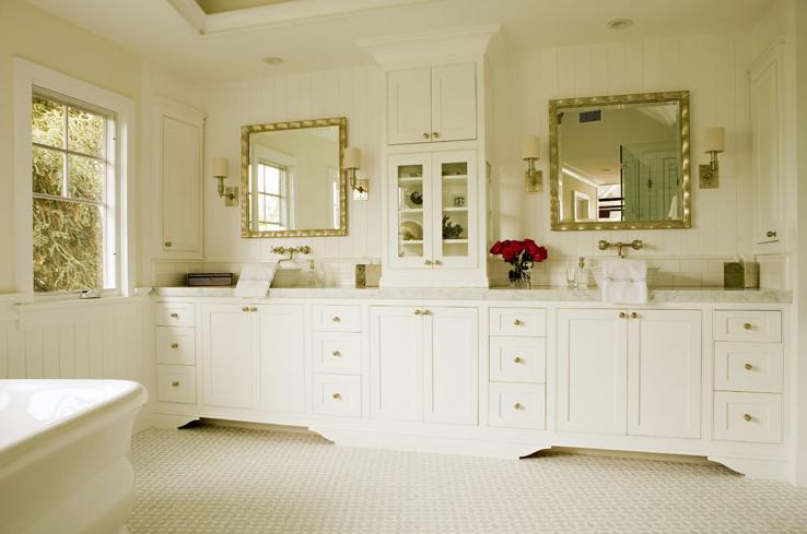 Double Vanity Ideas - Transitional - bathroom - Bonesteel Trout Hall