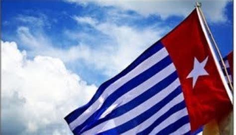 bendera papua merdeka berkibar  kjri bukti australia