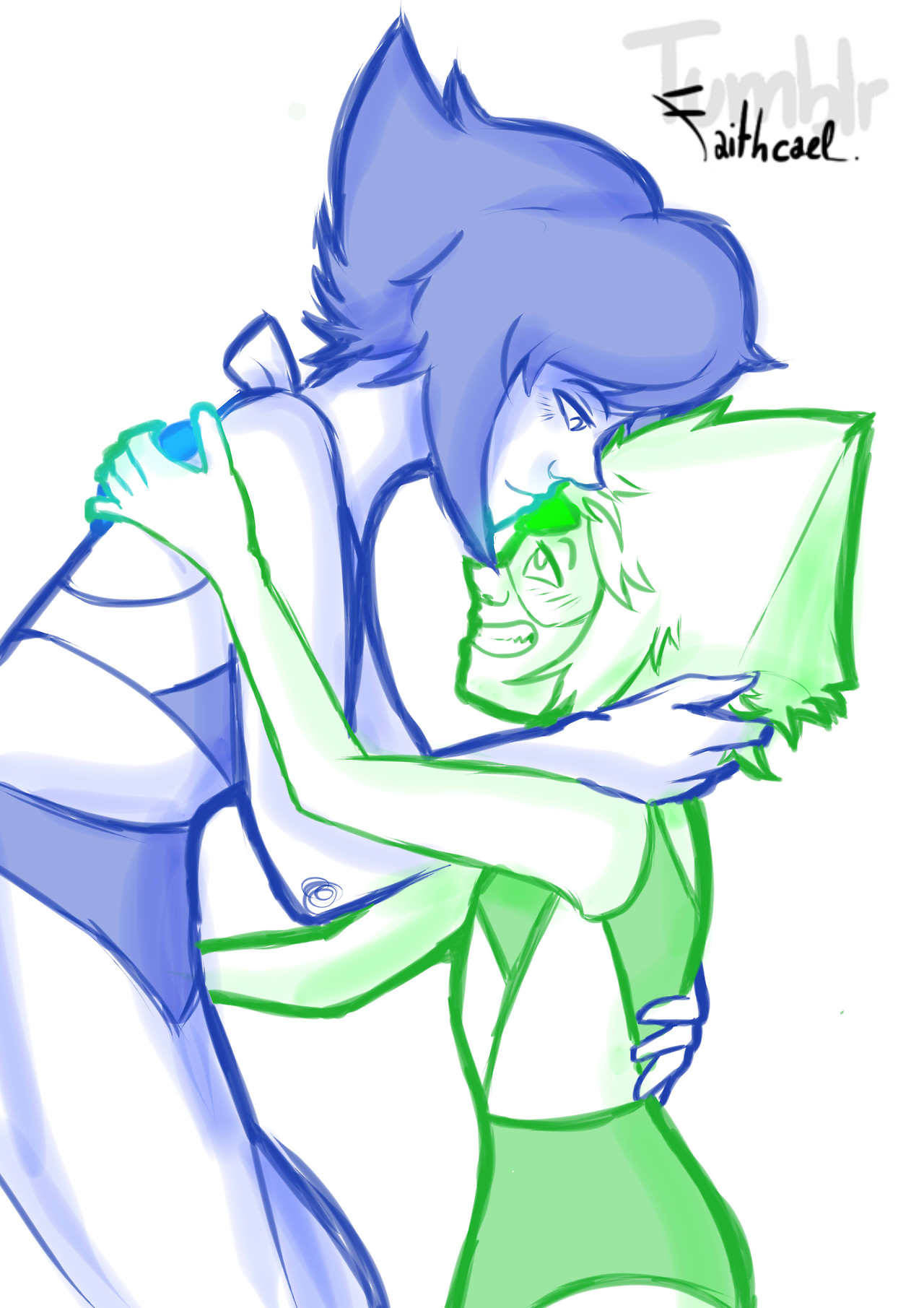 jHey ! I didn't post a lot lately 'cause I worked on some fan art prompts for the Lapidot Anniversary Week ! :D SO ! Happy Lapidot Anniversary Week and here's my first contribution. Monday 22 May:...