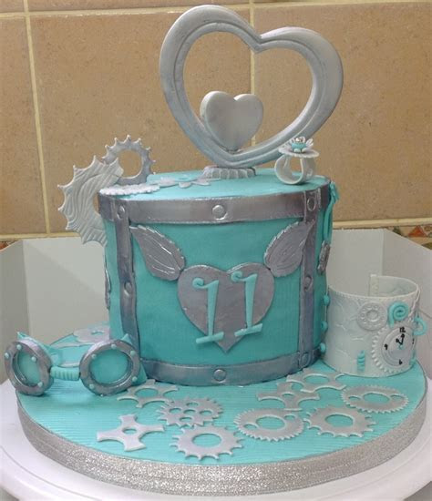 11Th Anniversary Wedding Cake (My Version Of Steampunk