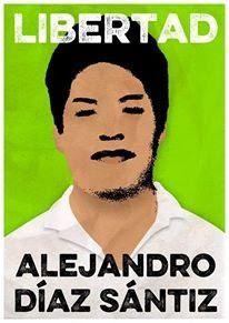 """Chiapas : Alejandro Diaz Santiz emprisonné injustement : """"les mauvais gouvernants ne tiennent jamais parole spécialement Manuel Velasco Coello"""""""