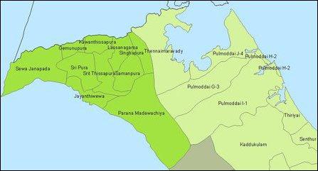 Padavi Sri Pura demographic changes target Sinhalicisation of Thennai-maravadi and Pulmoaddai