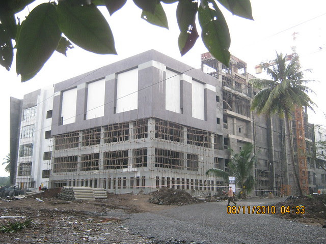 Pinnacle Cottage Close -  Construction of 'Abhiruchi CityPride 7 Screen Multiplex' is in full swing at 'Abhiruchi Village' on Sinhagad Road Pune 411 041
