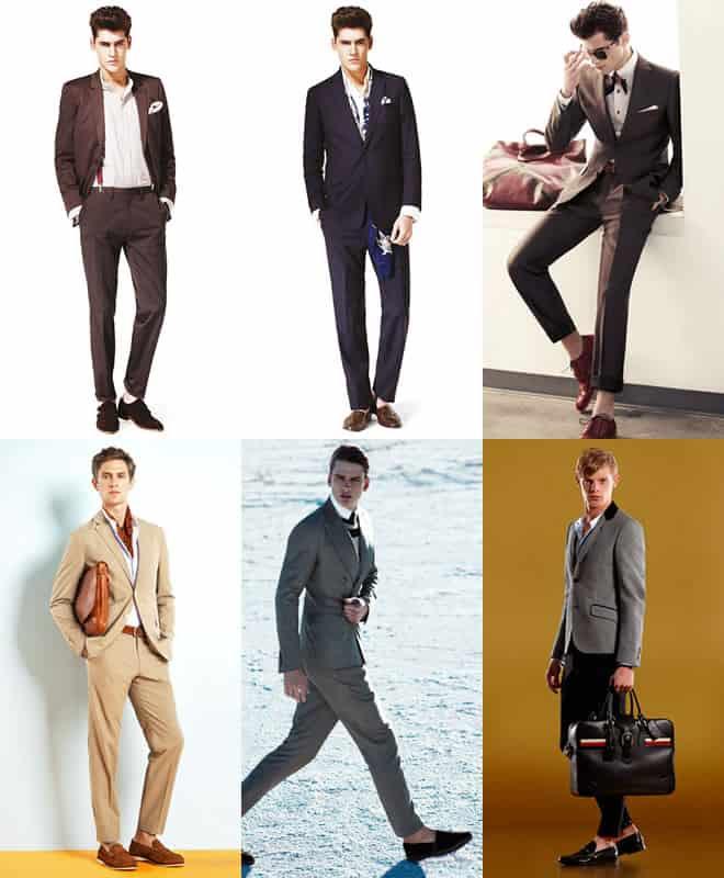 Men's Formal Sockless Lookbook