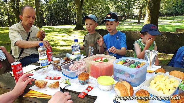 Picknick Wildpark Tannenbusch