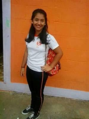 Colegas dizem que viram Samara sair da escola acompanhada por um rapaz em Apiaí (Foto: Divulgação)