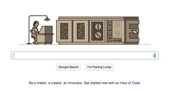 Grace Hopper Google Doodle