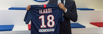 SPORT: French champions, PSG confirm £52m signing of  Mauro Icardi from Inter Milan following successful loan spell