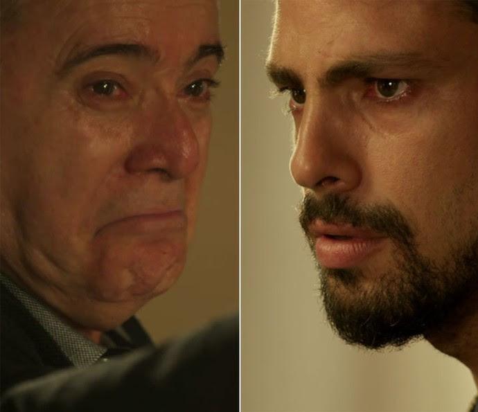 Zé Maria manda Romero matar Juliano (Foto: TV Globo)