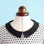 Neckline facing + (optional) collar