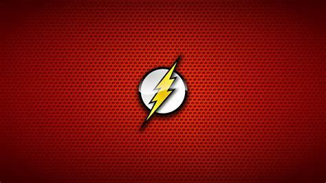 The flash comic hero red background symbols wallpaper