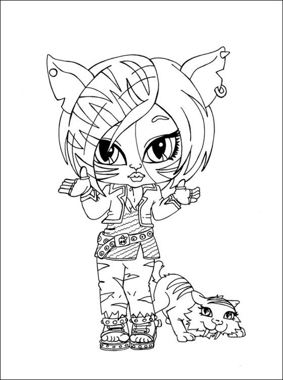 Monster High Coloring Pages All Characters At Getdrawingscom Free