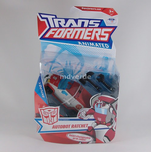 Transformers Ratchet Animated Deluxe - caja