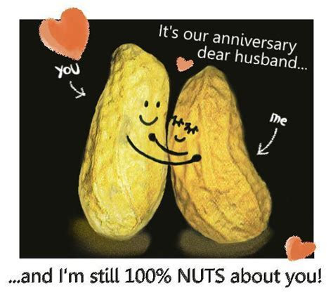 Anniversary Nuts For Husband. Free For Him eCards