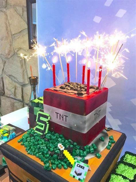 20 Kids Minecraft Party Ideas   Pretty My Party