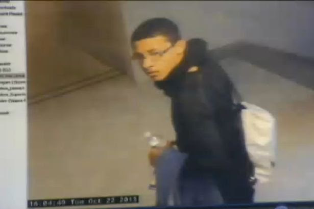 CCTV of Philip Chism after the murder of teacher Colleen Ritzer. The CCTV was shown in court during Philip Chism's murder trial