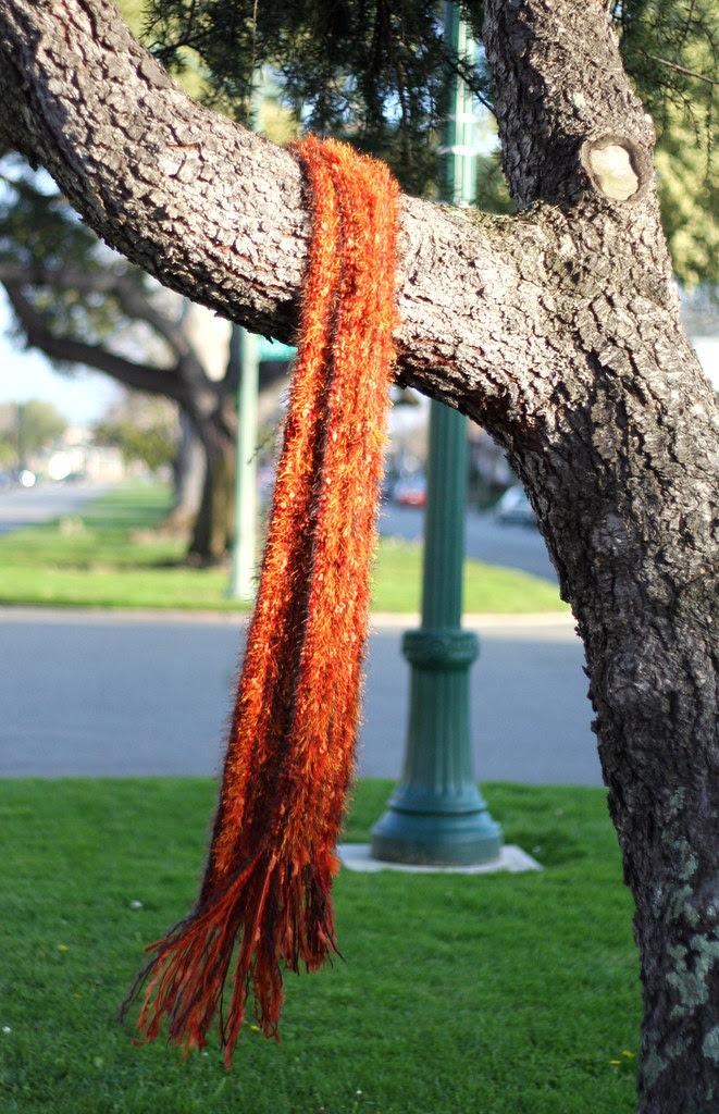Crazy long scarf
