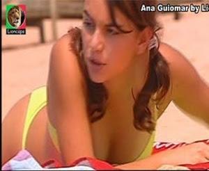 Ana Guiomar sensual em vários trabalhos