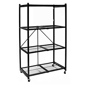 Amazon.com: Origami R5-01W General Purpose 4-Shelf Steel ...