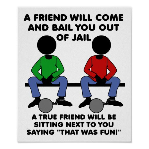 Funny Quotes About Best Friends Jail Quotes