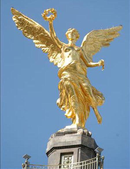 Columna Del Angel De La Independencia México Historia Biografías Fotos