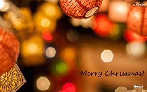merry christmas  lighting background hd wallpaper