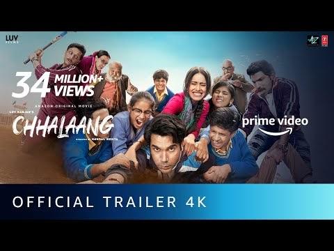 Chhalaang Hindi Movie Trailer