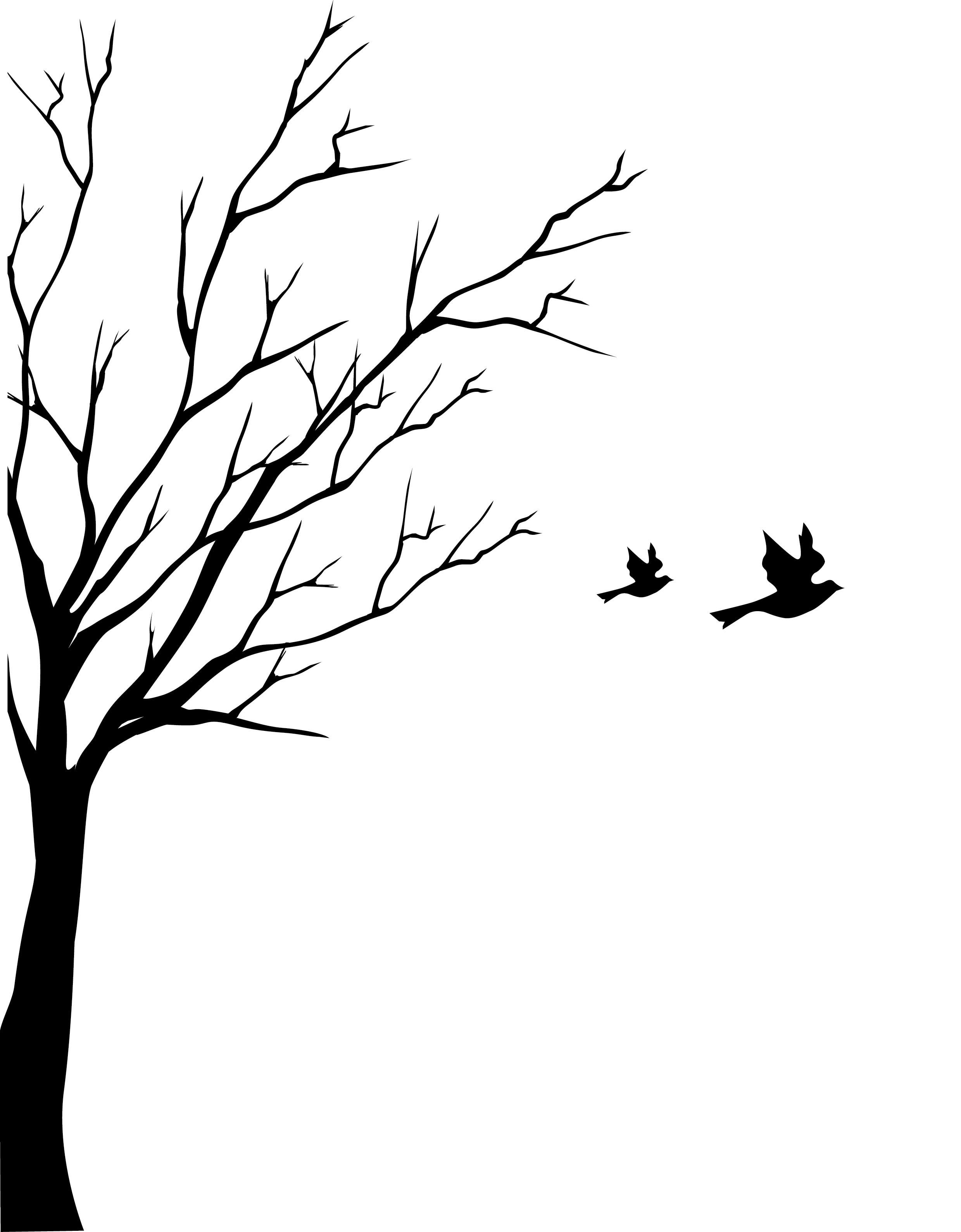 Black Tree Clipartsco