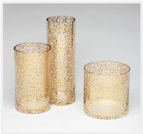 Dwell Gold Vases