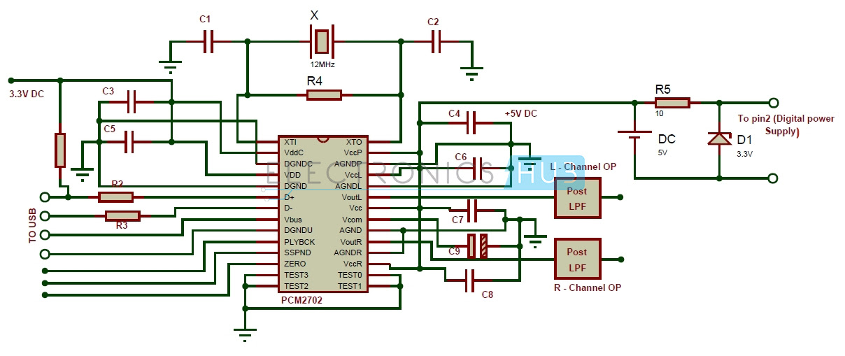 My World My Rules  Usb Sound Card Circuit