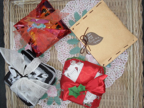 Pretty little packages from Pertinitaco! Your Squares have arrived today! Thank You!