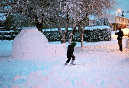 igloo inhabited