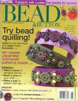 Bead & Button, June 2008 Issue: Editors of BEAD & BUTTON Magazine: Amazon.com: Books