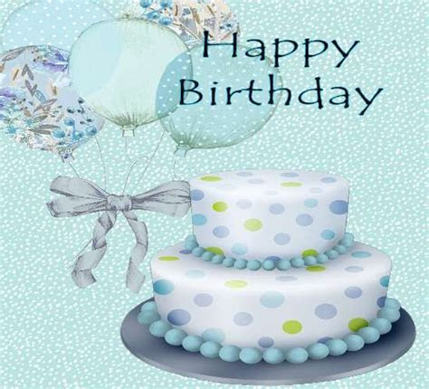 Blue Birthday. Free Birthday for Him eCards, Greeting
