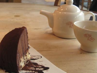 Tea and Cake on South Bank