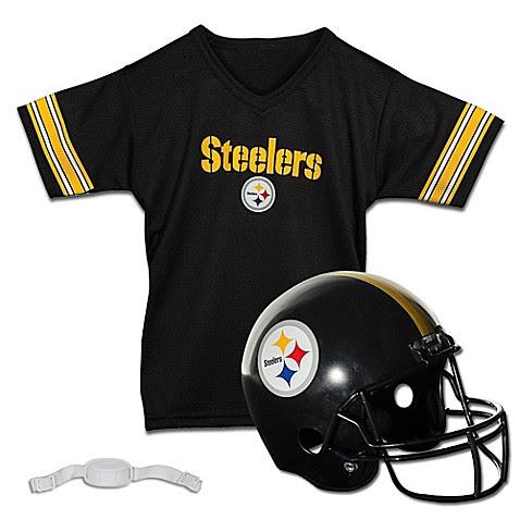 NFL Pittsburgh Steelers Kids Helmet/Jersey Set  buybuy BABY