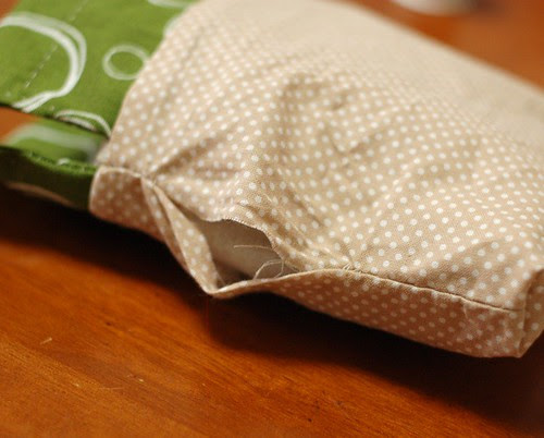How to make a petit pouch 29