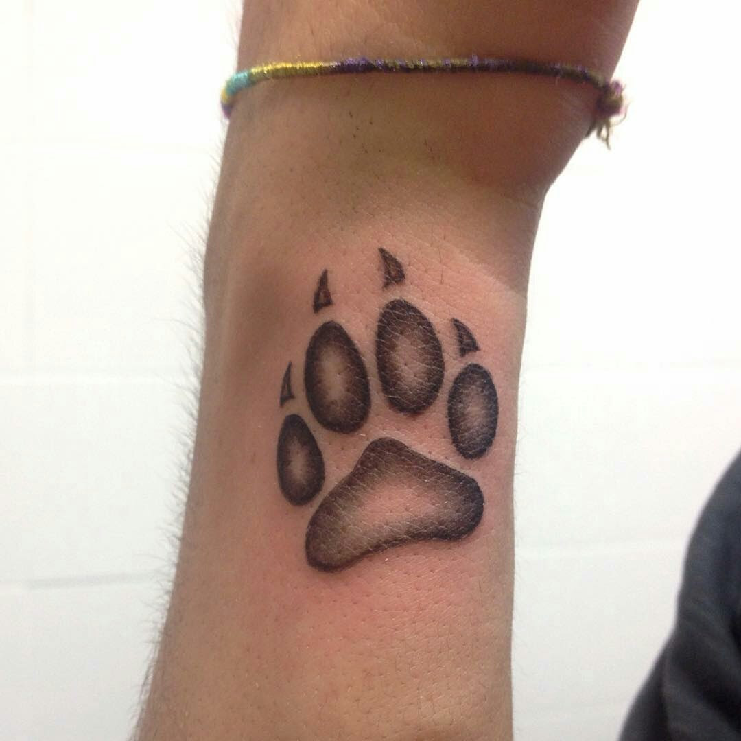 Imágenes De Tatuajes De Huellas De Perro Imágenes