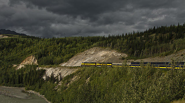 Alaskan wilderness train  Flickr  Photo Sharing!