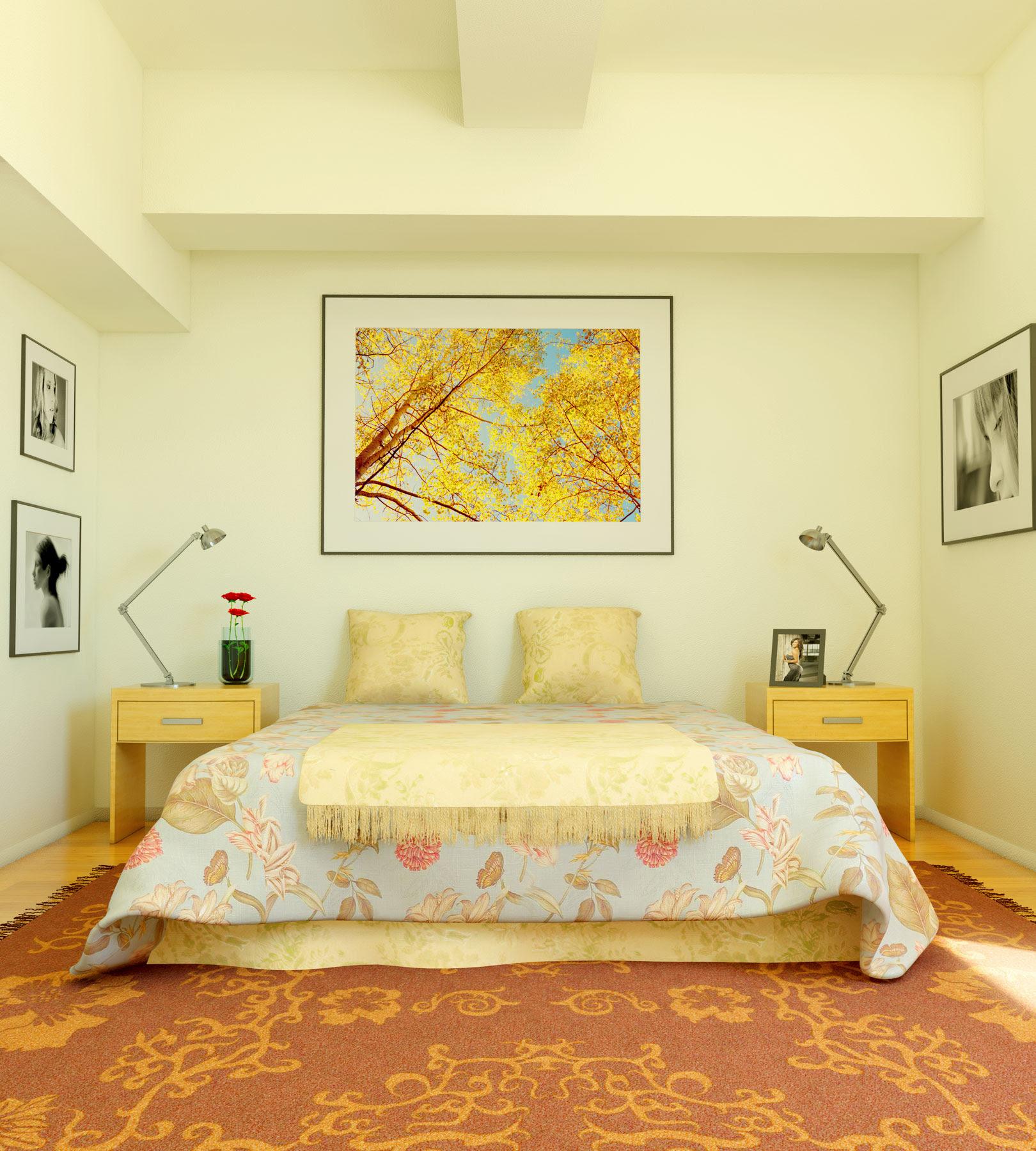 Sleek Bedrooms with Cool