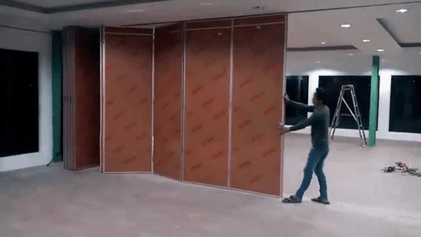 Pintu Lipat Penyekat Ruangan Model Sliding Partisi Lipat