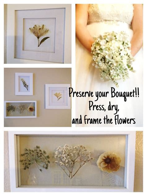 DIY Wedding Bouquet Preservation: This is how I preserved